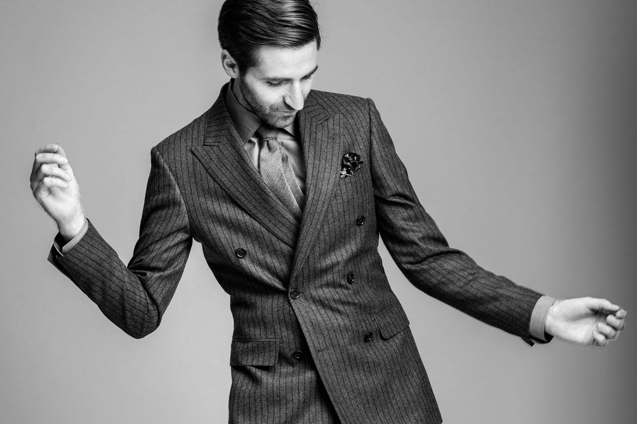 Pět rad jak v zimě nosit dvouřadý oblek